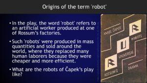 Emerging Trends in Organizational Robotics