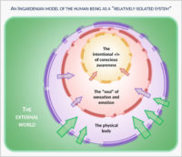 An Ingardenian Model of the Human Being as a Relatively Isolated System