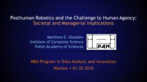 Posthuman Robotics